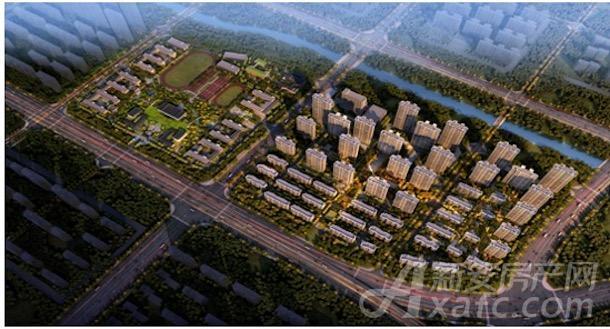 京师国府项目示意图