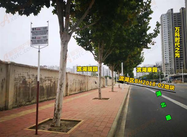 滨湖区BH2018-02地块周边公交