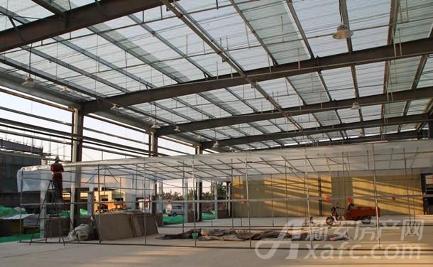 新发地28号地花鸟鱼虫市场的工程建设