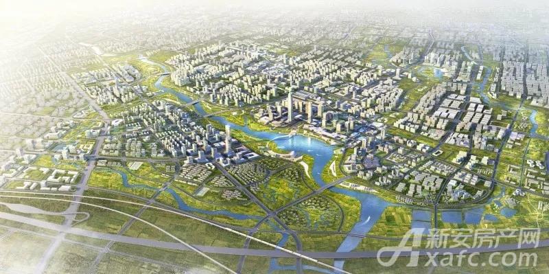 合肥东部新中心规划图
