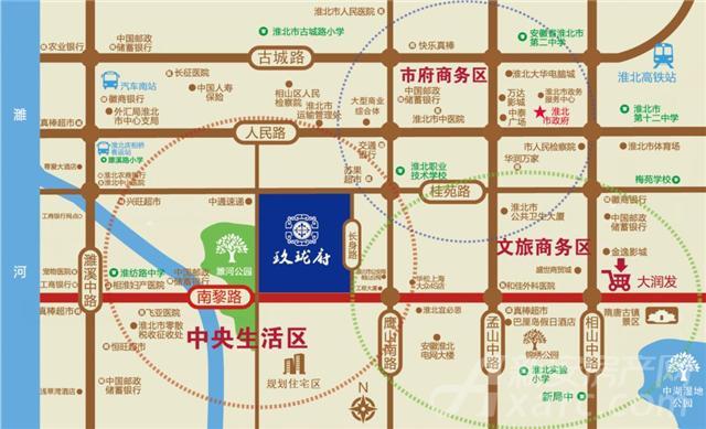 玖珑府项目区位图