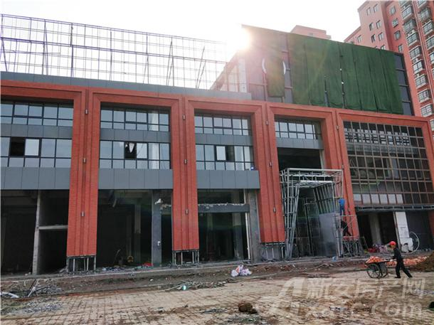 东方摩域艺术商业广场外立面实景图