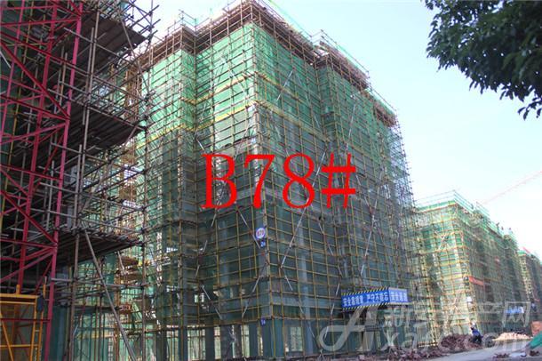 【伊美城市首府】10月进度:B78#已建至5层