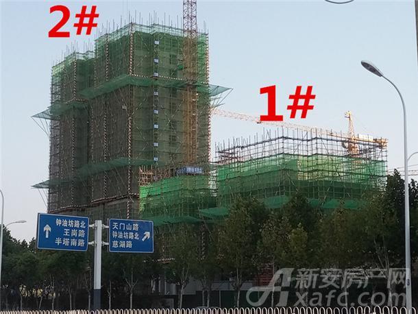 禹洲珑玥湾10月项目进度