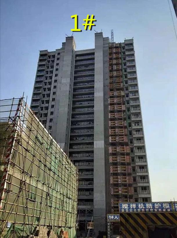 和昌香樟原著楼栋图11月项目进度