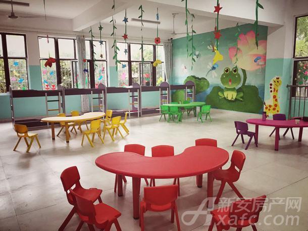 童话世界幼儿园内部实景