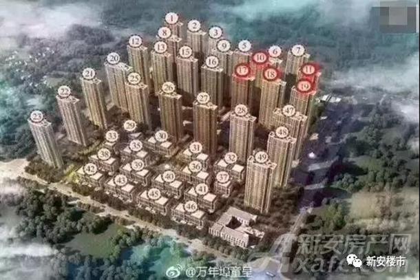 信地华地城楼栋分布