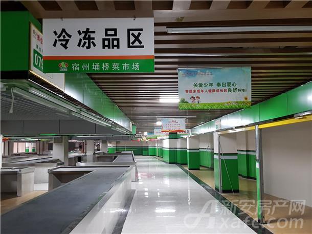 东成国际广场农贸市场11月内部装饰进展