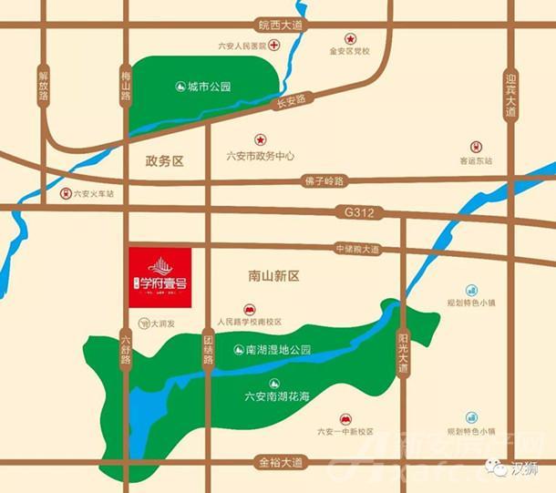 宝恒南山广场交通图