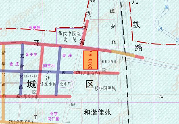 2018-85地块位置