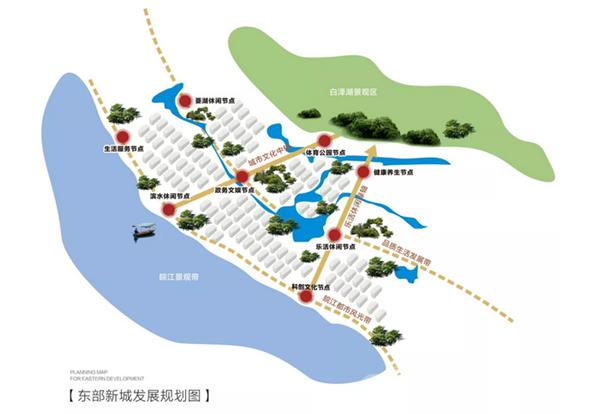 东部新城规划图