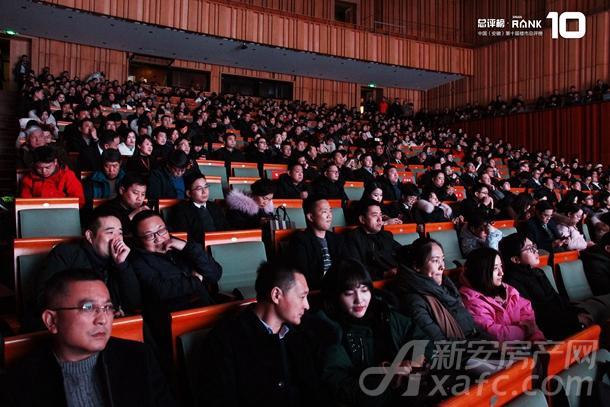 中国(安徽)第十届楼市总评榜暨年度榜单发布盛典现场