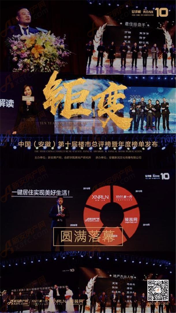 中国(安徽)第十届楼市总评榜
