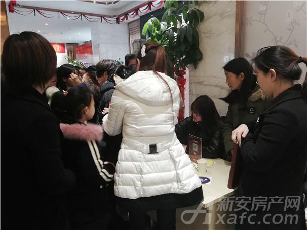 铜陵老乡顺利抵达花语江南营销中心