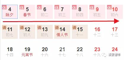 2019年春节
