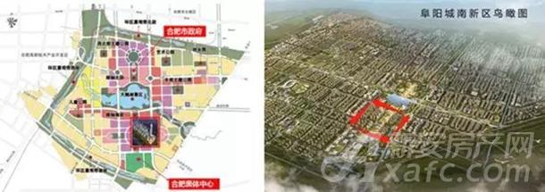阜阳城南新区规划图