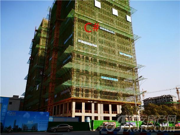 高速中央广场3月份工程进度