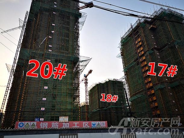 壹�府邸17#、20#楼项目进度