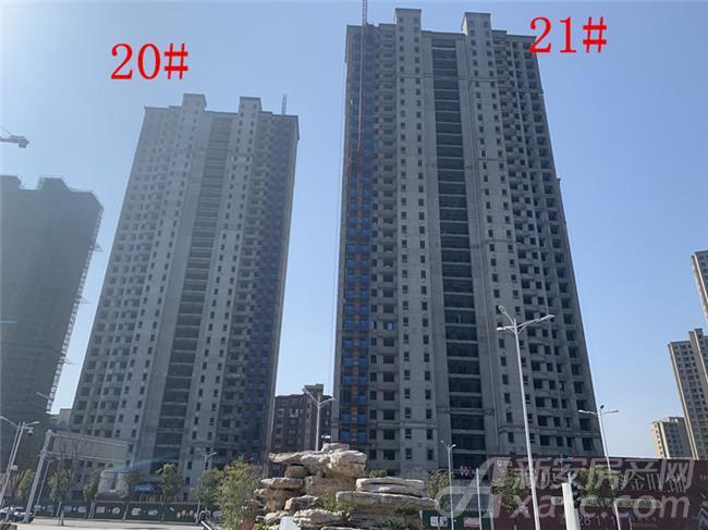 金大地紫金公馆20#、21#楼项目进度