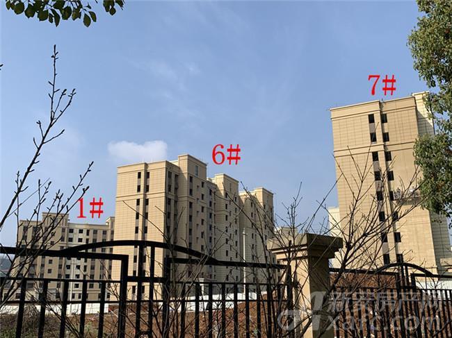 公园道B区御湖1#、6#、7#项目进度