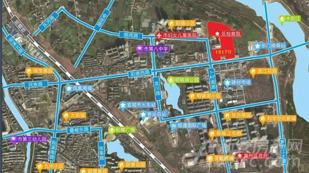 1817号地块路网图