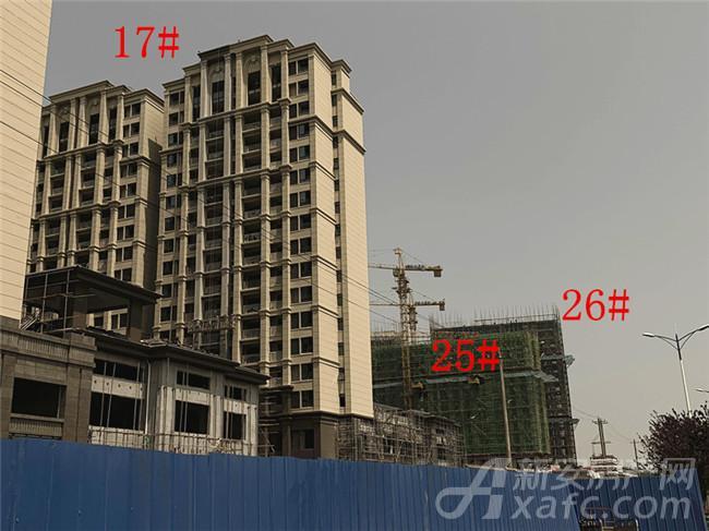 淮矿东方蓝海17#、25#、26#项目进度