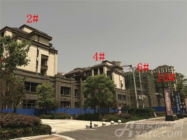 淮矿东方蓝海2#、4#、6#、10#楼项目进度
