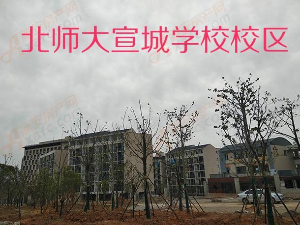 建设中的北师大宣城学校