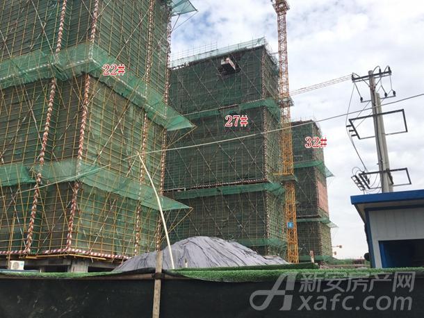 项目进度 万创・御香山采用新中式建筑风格,在中国传统建筑基础上搭配