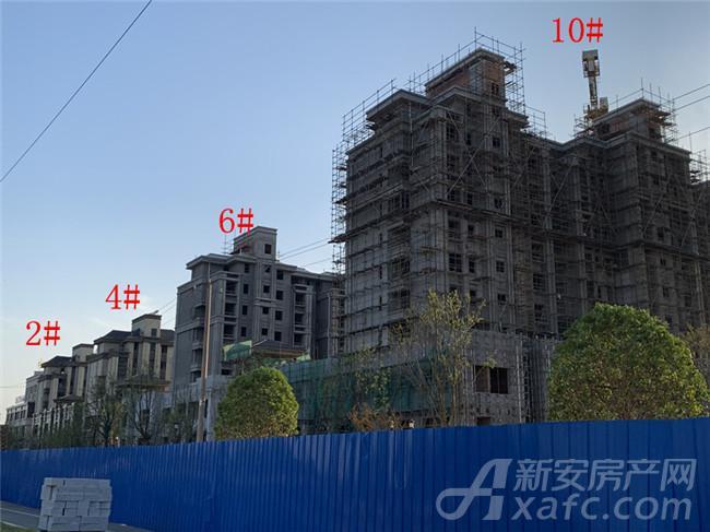 东方蓝海2#、4#、6#、10#楼项目进度