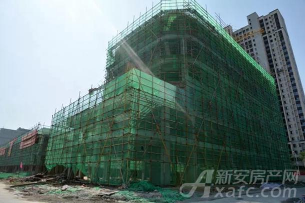 海洋馆中央街工程陆续封顶