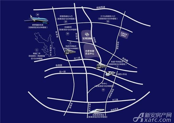 宝湾国际区位图