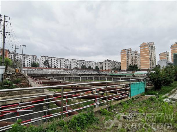 合肥原溪贝乐城项目工地实景图