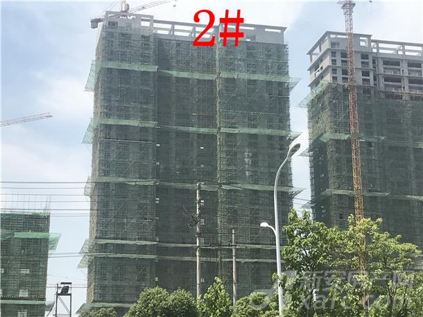 中辰优唐广场6月项目进度