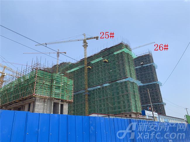 东方蓝海25#、26#项目进度