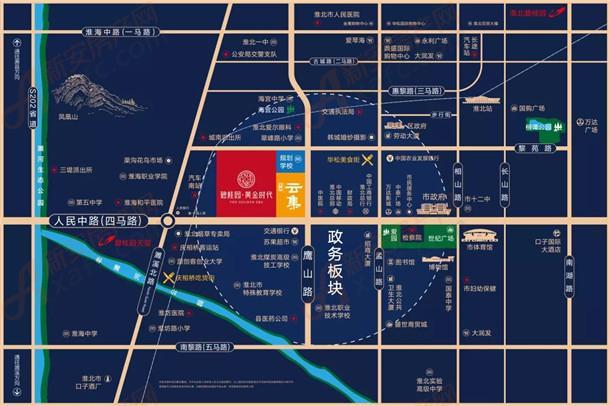 淮北边碧桂园黄金时代区位图.jpg