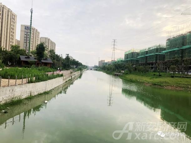 窦棚河实景图