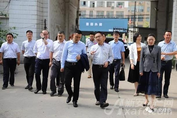 苏宁置业考察电机厂地块项目