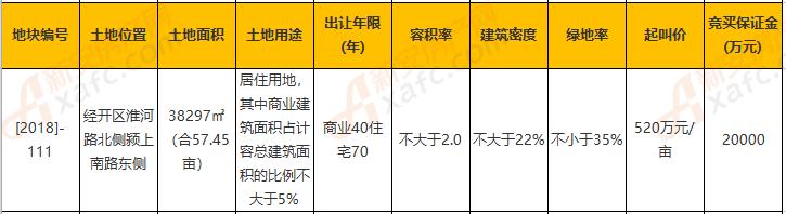 [2018]-111号阜阳弘阳地块信息
