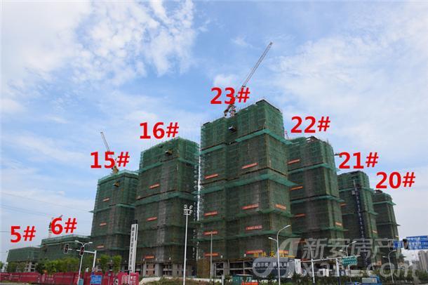 安建翰林天筑7月项目进度图