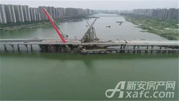 寿春路桥实景图