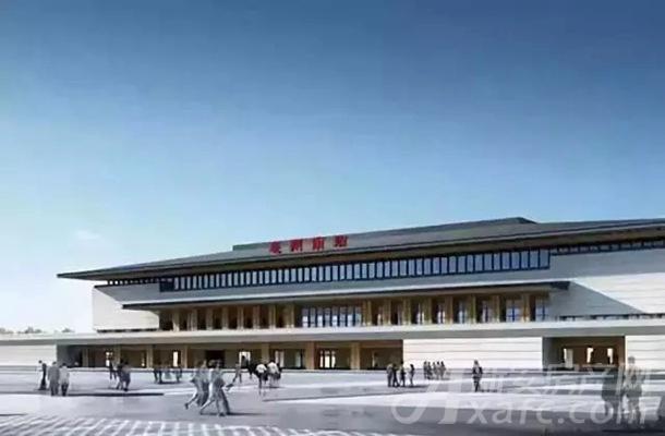 高铁南站效果图