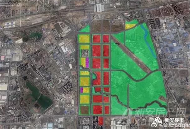 合肥中央公园总体规划