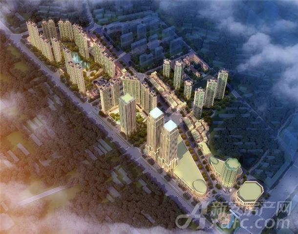 恒大中央广场项目效果图