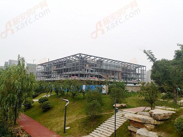 阜阳市图书馆在建