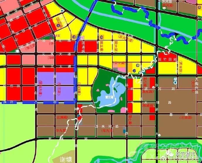 紫云湖片区控制性规划