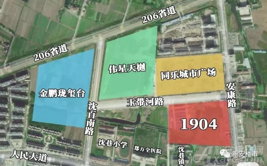 ▲芜湖1904宗地大概位置示意图