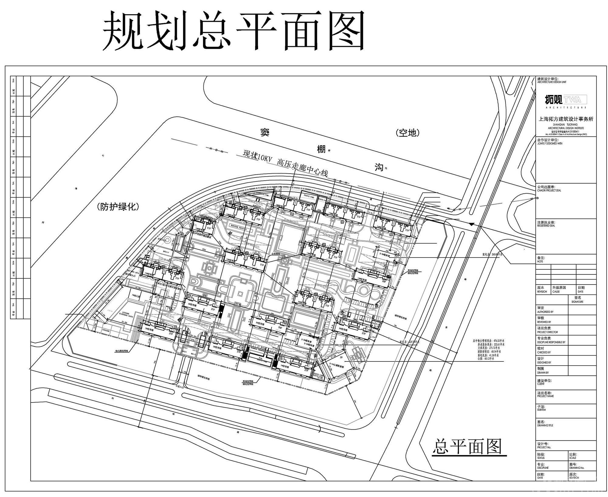新城阜阳大都会项目规划图