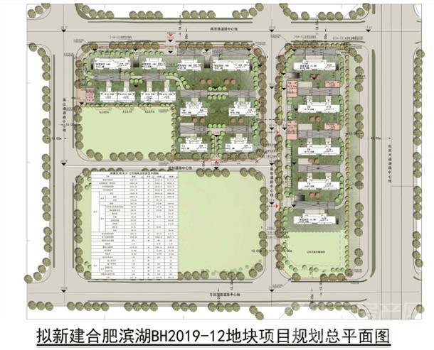 旭辉BH2019-12地块规划示意图