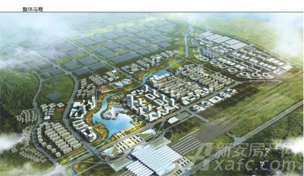 安庆高铁新区效果图